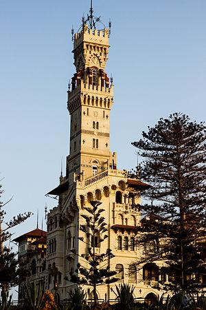 Montaza Palace - Side view of the Al-Haramlik Palace