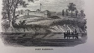 Siege of Fort Harrison - Image: Siege of Fort Harrison