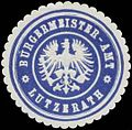 Siegelmarke Bürgermeister-Amt Lutzerath W0379756.jpg