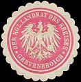 Siegelmarke Der K. Landrat des Kreises Grevenbroich W0391090.jpg