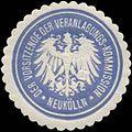 Siegelmarke Der Vorsitzende der Veranlagungs-Kommission Neukölln W0342659.jpg