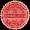 Siegelmarke Gemeinde-Vorstehung Oberlangenegg - Vorarlberg W0260992.jpg