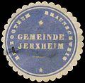 Siegelmarke Gemeinde Jerxheim H. Braunschweig W0382762.jpg