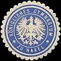 Siegelmarke Königliches Gymnasium zu Nakel W0310871.jpg