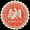 Siegelmarke K.Pr. Bezirks-Kommando II W0351886.jpg