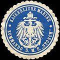 Siegelmarke Kaiserliche Marine - Kommando S. M. S. Stosch W0215647.jpg