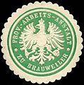 Siegelmarke Provinz - Arbeits - Anstalt zu Brauweiler W0212514.jpg