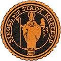 Siegelmarke Siegel der Stadt Krefeld W0313322.jpg