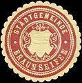 Siegelmarke Stadtgemeinde Braunseifen W0317690.jpg