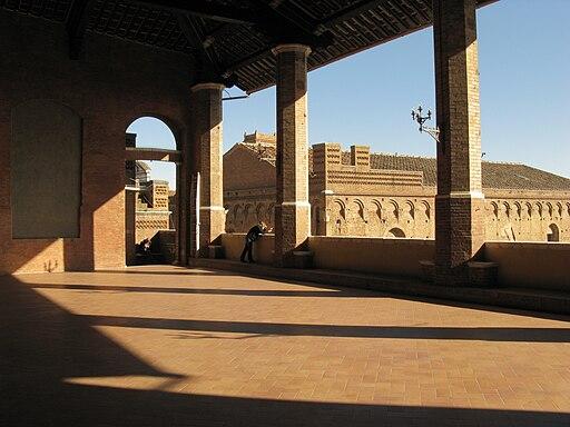 Loggia superiore del Palazzo Pubblico, Siena