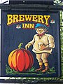 Sign for the Brewery Inn - geograph.org.uk - 1577713.jpg