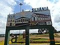 Silvânia GO Brasil - Portal da Cidade, trevo da GO 457 - panoramio.jpg