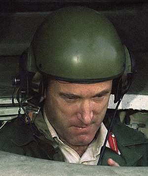 Simon Cooper (British Army officer) - Cooper in the driver's compartment of an M1 Abrams tank in 1985