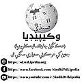 Sindhi Wikipedia logo with URLs.jpg