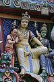 Singapore. Sri Mariamman. Gopuram. South East-11.JPG