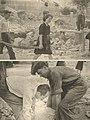 Sinj - obnova 1945 - ruševine nakon savezničkog bombardiranja 1944.jpg