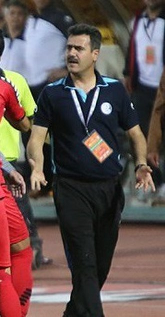 Foolad F.C. - Sirous Pourmousavi, current head coach of the club