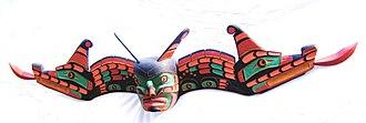 Kwakwaka'wakw mythology - Kwakwaka'wakw Cedar sisiutl mask.