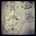Sketch of La Bonche Crest.JPG