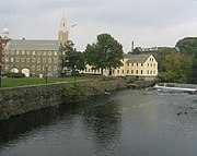 Old Slater Mill, a historic district in Rhode Island, has the distinction of carrying the NRHP reference number 66000001, technically making it the first property added to the National Register on November 13, 1966.