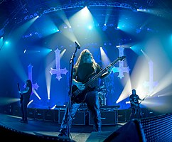 Slayer performing in Austin, Texas 2014.jpg