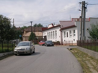 Hrabkov Village in Slovakia