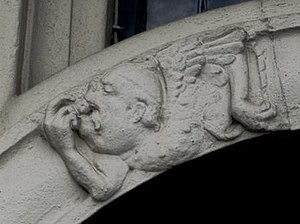 Grotesque body - The grotesque is used here through the use of the mouth in the architecture of a building.