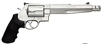 .50 caliber handguns - Image: Smith and Wesson 500 Magnum 7.5 inch Performance center Revolver