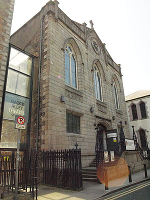 Theatre Royal, Dublin - The Smock Alley theatre, Dublin, on the site of the first Theatre Royal