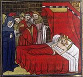Philip I on his deathbed