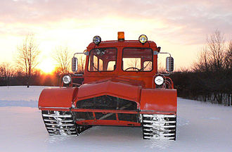 Snow Trac - 1972 Snow Trac ST4 7 passenger cabin variant