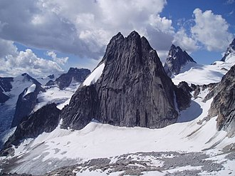 The Bugaboos - Snowpatch Spire in the Bugaboos