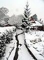 Snowy Stream, Woolhampton - geograph.org.uk - 333325.jpg
