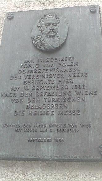 John III Sobieski - Image: Sobieski Vienna