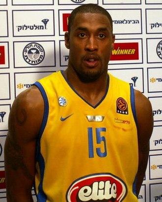 Will Solomon - Solomon with Maccabi in 2005.