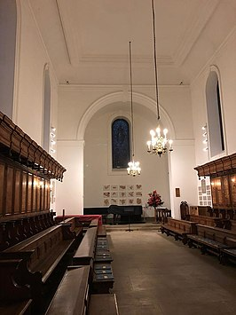 Somerville College Oxford, Chapel inside.jpg