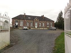 Sommette-Eaucourt (Aisne) mairie.JPG