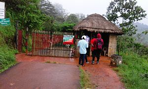 Soochipara Falls - The ticket counter