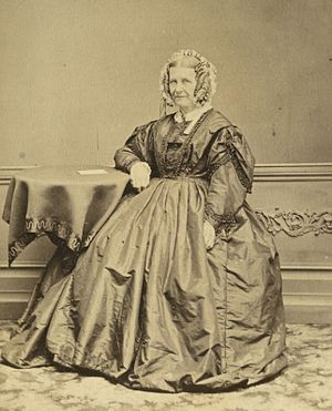 Linwood House - Sophia Brittan in 1872