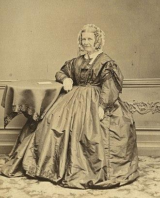 Linwood House - Sophia Brittan in 1872