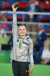 Sophie Scheder artistic gymnast