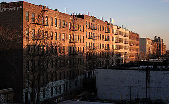Tenement - Tenements in Soundview, The Bronx