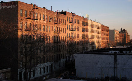 Tenements in Soundview, The Bronx Soundviewbxrow.JPG