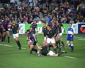 2003 Rugby World Cup - South Africa vs Georgia, 24 October 2003