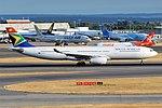 South African Airways, ZS-SXM, Airbus A330-343 (44355258752).jpg