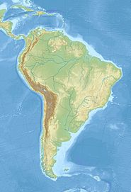 Thalassocnus is located in South America