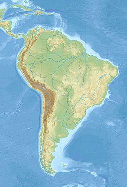 Situo enkadre de Sud-Ameriko
