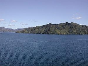 Arapaoa Island - Southern end of Arapaoa Island