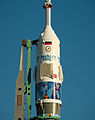 Soyuz TMA-11M erected at Baikonur Cosmodrome (201311050027HQ).jpg