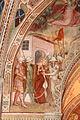 Spinello aretino, caterina condotta al martirio, decapitata e sepolta dagli angeli 02.JPG